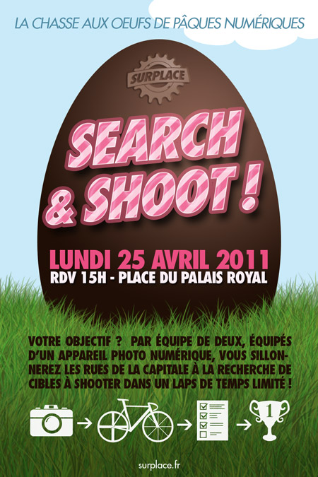 Search &amp; Shoot Surplace Paris