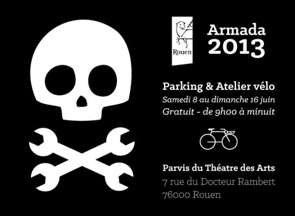 Armada 2013 - Parking & atelier vélo