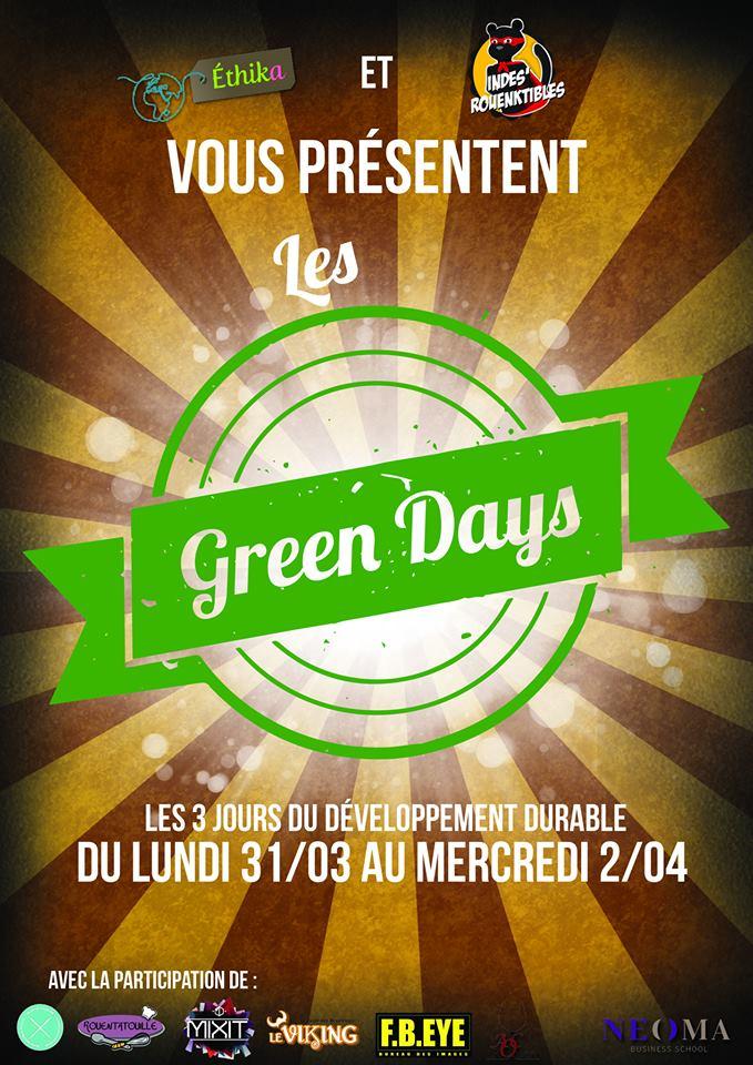 Affiche green days