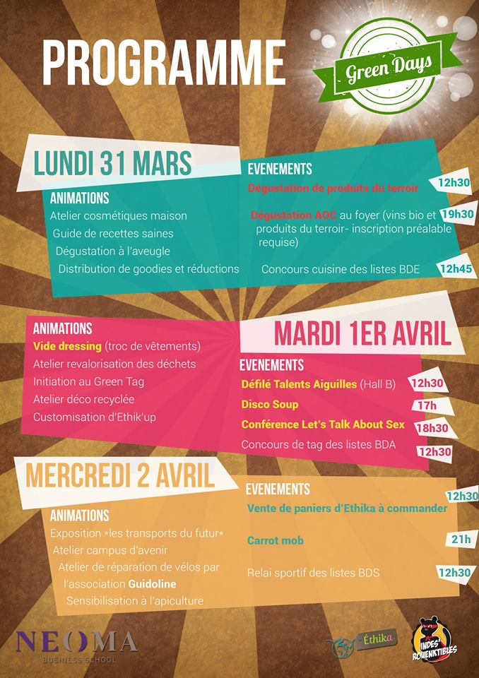 Programme Green Days