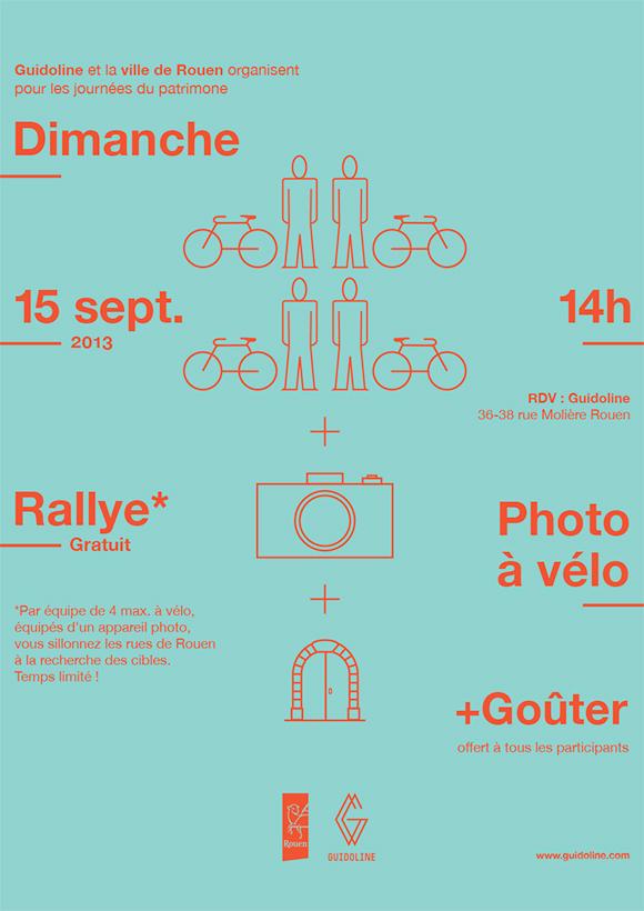 Rallye photo à vélo