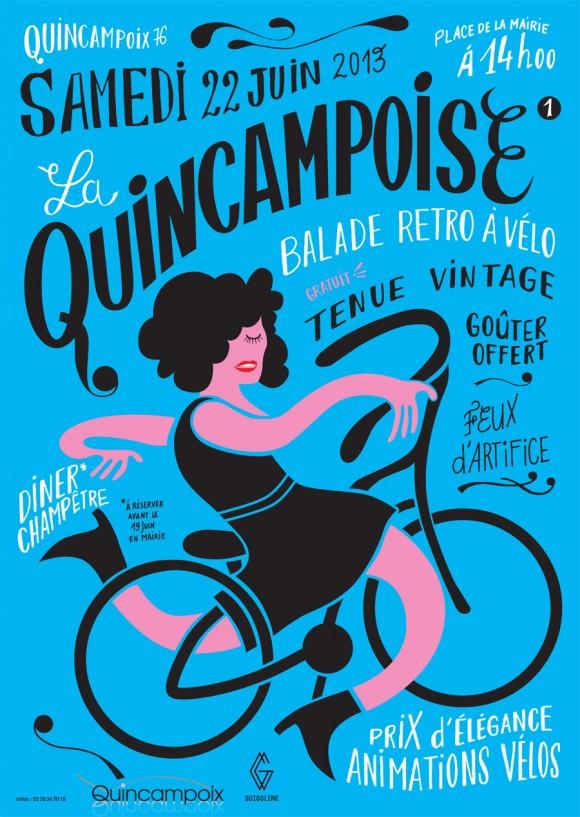 La Quincampoise, une balade rétro à vélo !